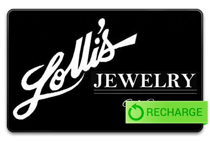 Recharge your Lolli's Jewelry Card